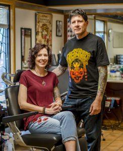 Matt and Cat Thrash - Tattoo Shop Owners